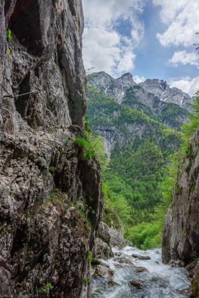 The source of the Soca (Slovenia 2019)