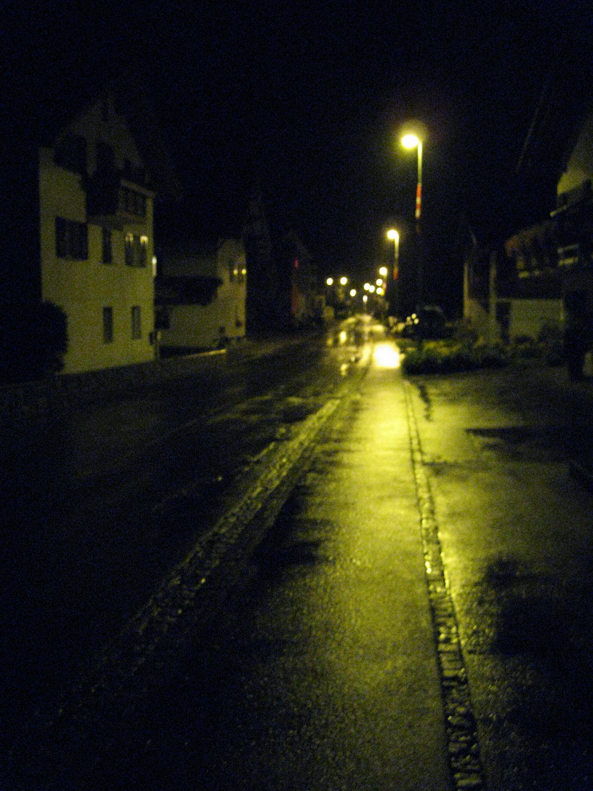 A rainy night (Swiss O Week, Switzerland)