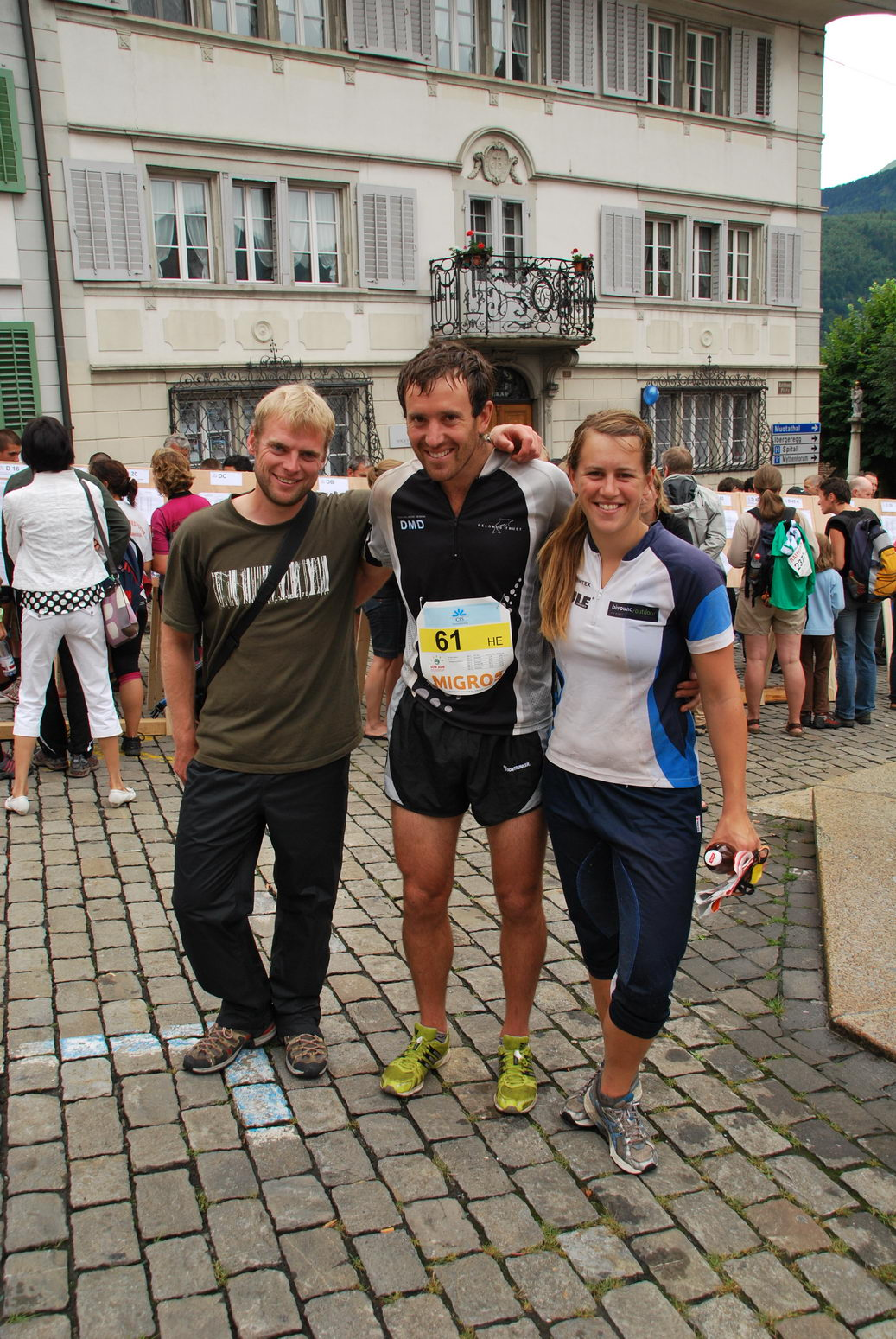 Cris, Chris, and Em (Swiss O Week, Switzerland)
