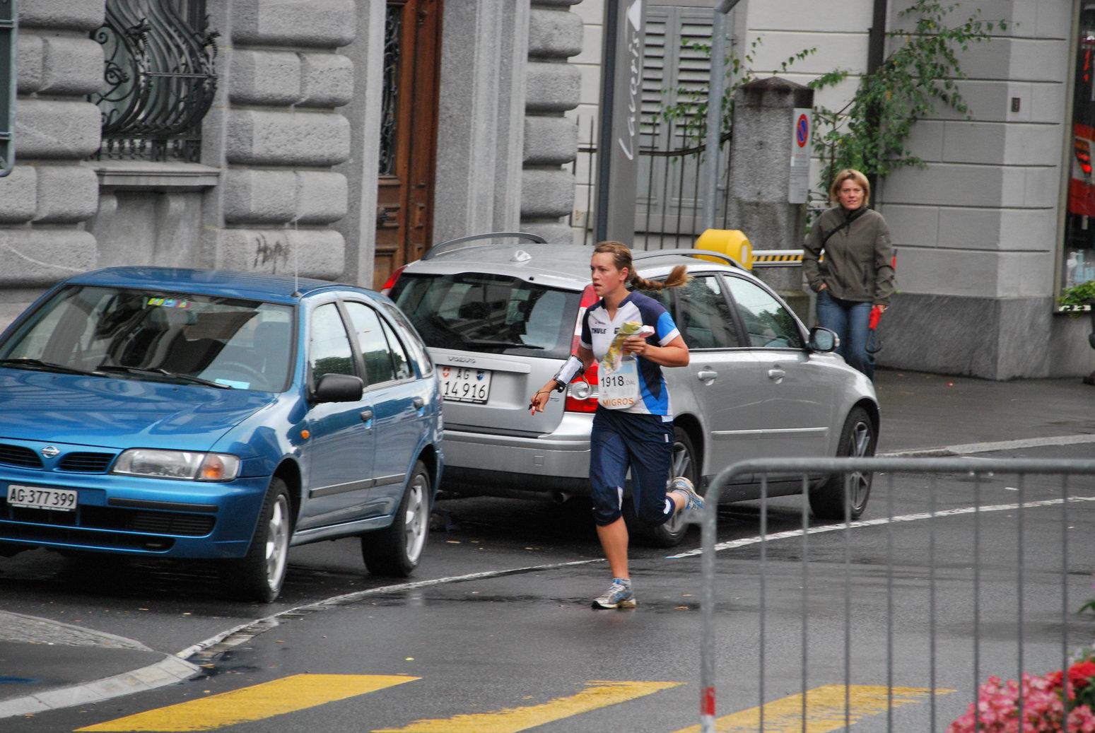Em in action (Swiss O Week, Switzerland)