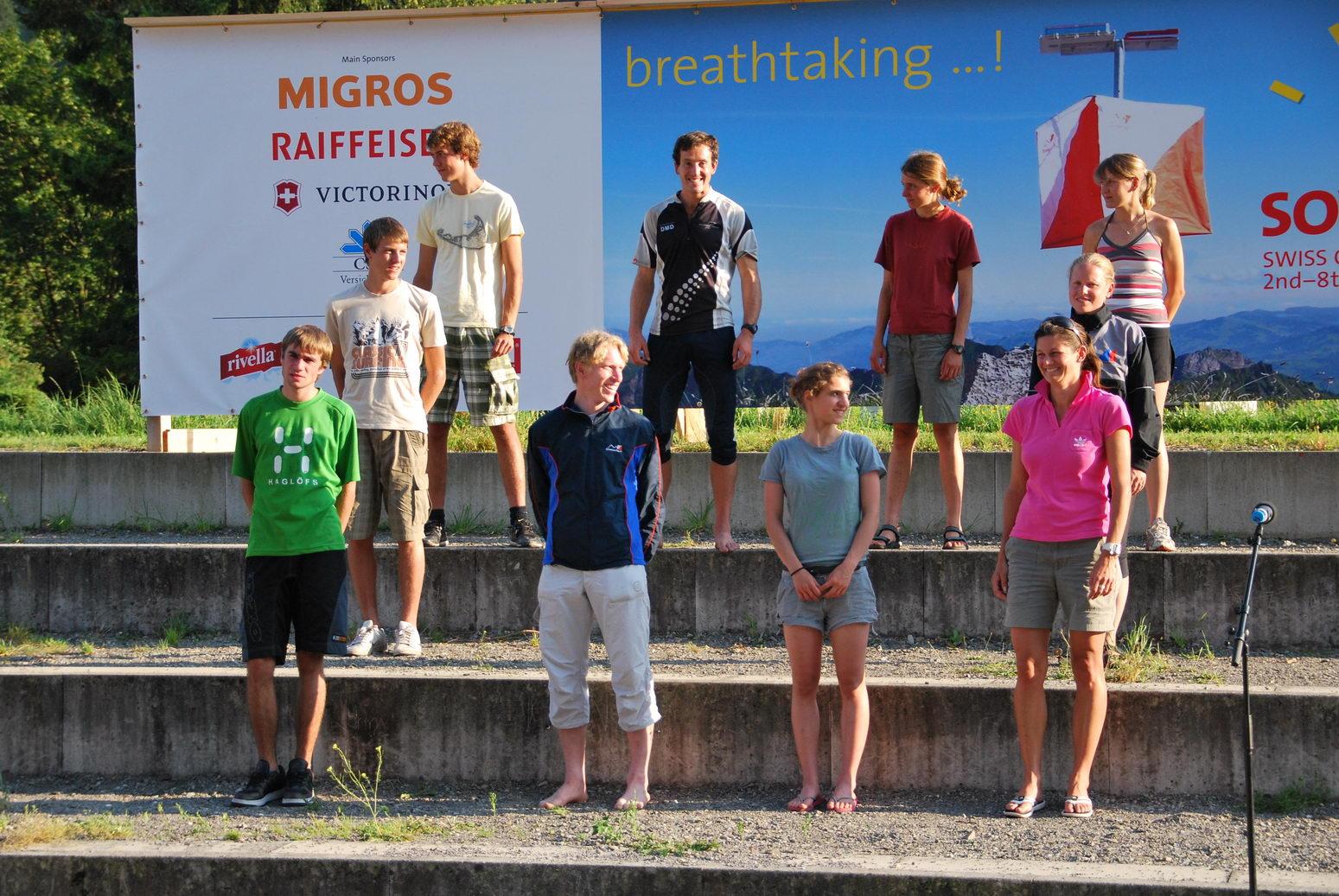 Prize giving (Swiss O Week, Switzerland)