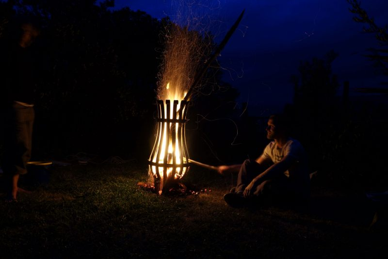 Andy and fire (Takaka 2013)
