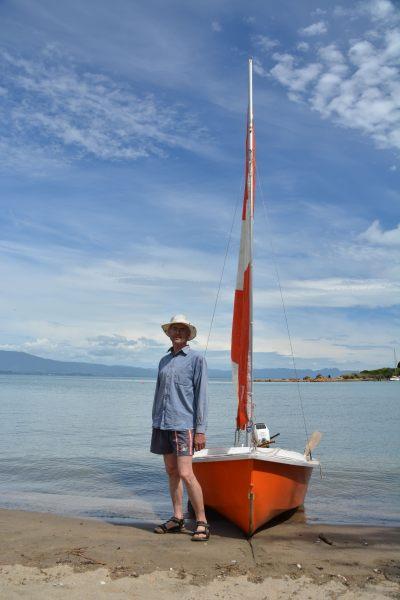 Dad and his boat 4 (Takaka 2013)