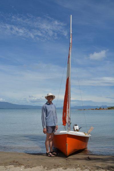 Dad and his boat 5 (Takaka 2013)