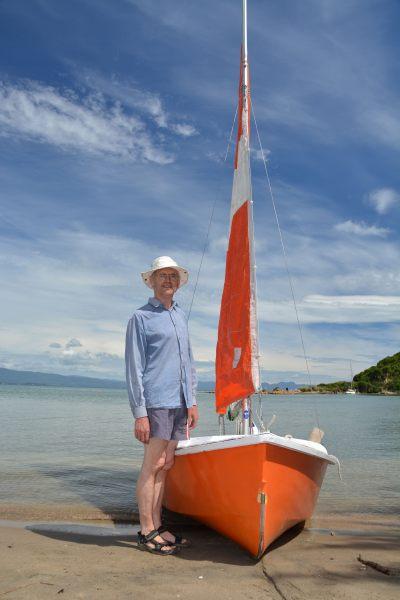Dad and his boat (Takaka 2013)