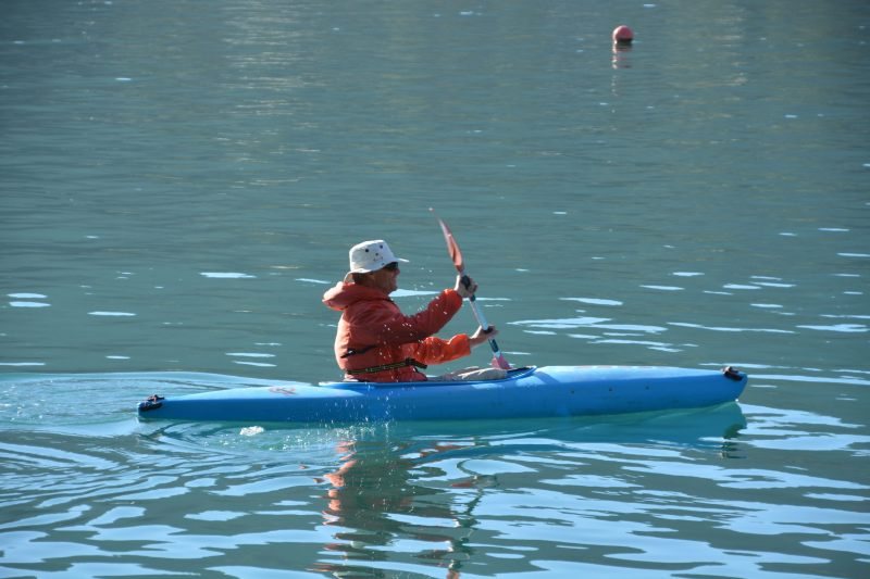 Dad heads for the mainland 2 (Takaka 2013)