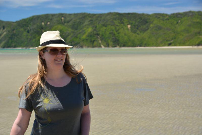 Holly in Wainui Inlet (Takaka 2013)