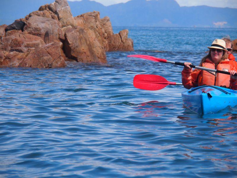 Kayaking with the sister (Takaka 2013)