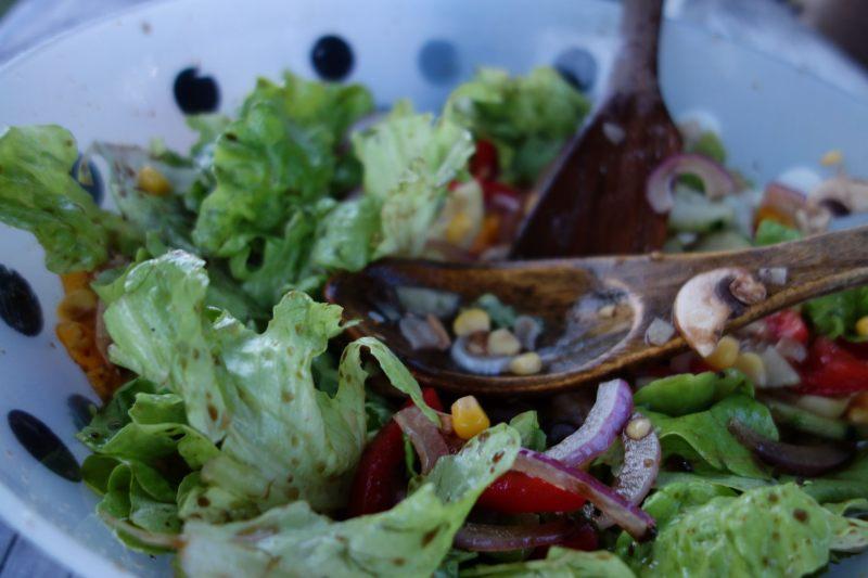 Mmmmm salad (Takaka 2013)