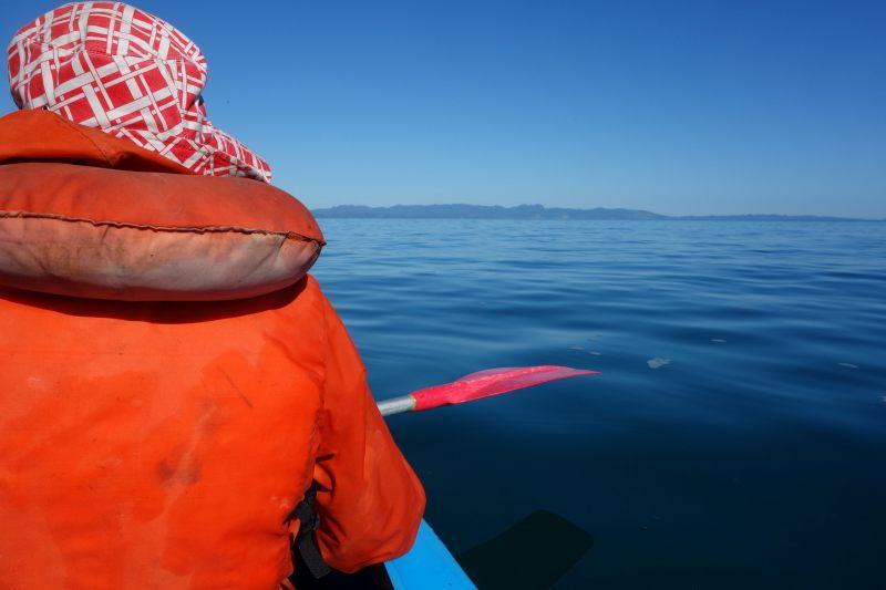 Mum on the water (Takaka 2013)