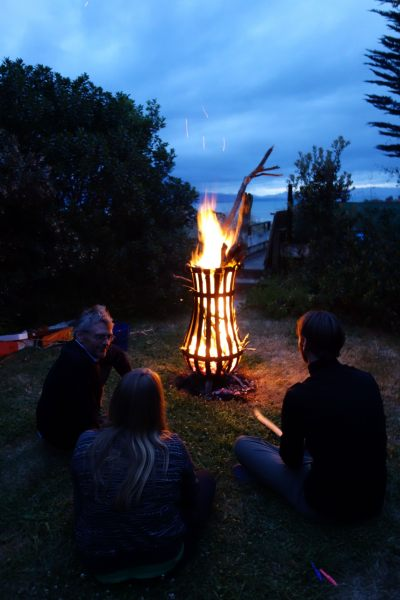Sitting by the fire 2 (Takaka 2013)