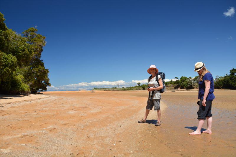 Standing in the lagoon (Takaka 2013)