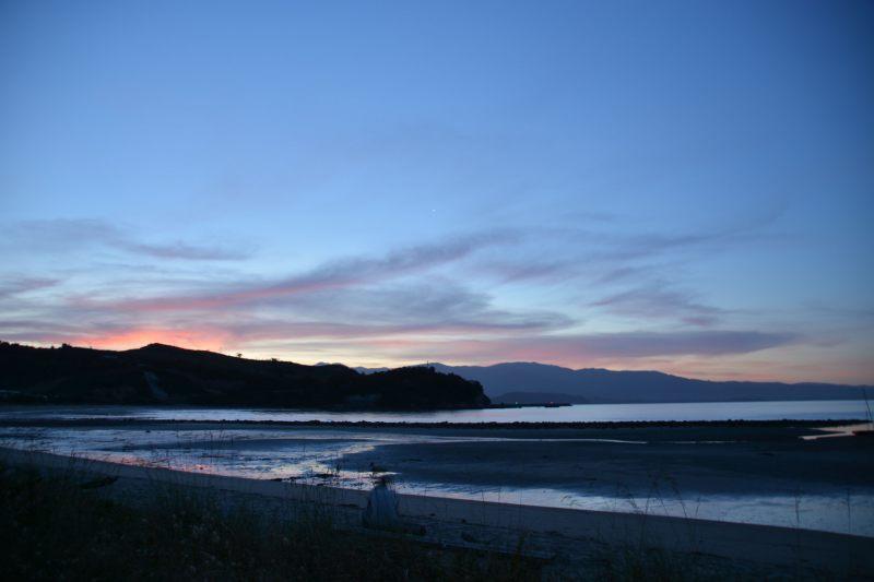Sunset in Ligar Bay (Takaka 2013)