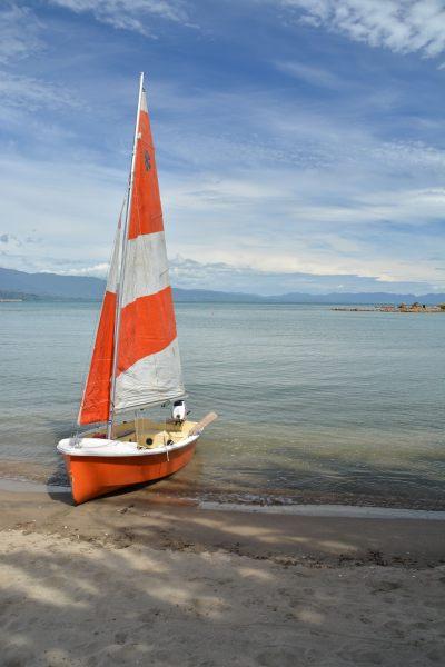 The boat on the beach 2 (Takaka 2013)