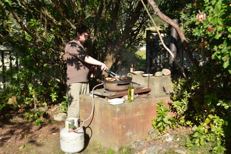 The kiwi bloke's helper (Takaka 2013)
