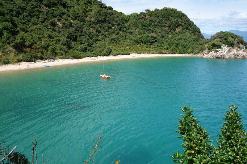 View down to the beach (Takaka 2013)