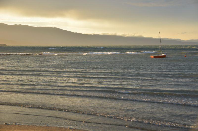 Windy evening in Ligar Bay (Takaka 2013)