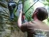 Andy climbing at Paynes 2 (Takaka 2013)