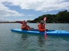 Cris and Katie kayaking (Takaka 2013)