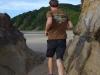 Going running with Brendan (Takaka 2013)