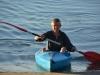 Mum in her kayak (Takaka 2013)