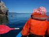 Mum in kayak 2 (Takaka 2013)