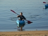 Paddling in to the beach (Takaka 2013)