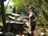 The kiwi bloke in action (Takaka 2013)