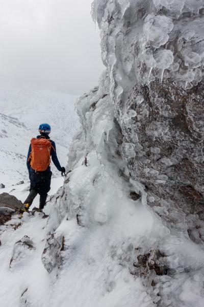 Craig and ice (Tongariro Adventures July 2021)