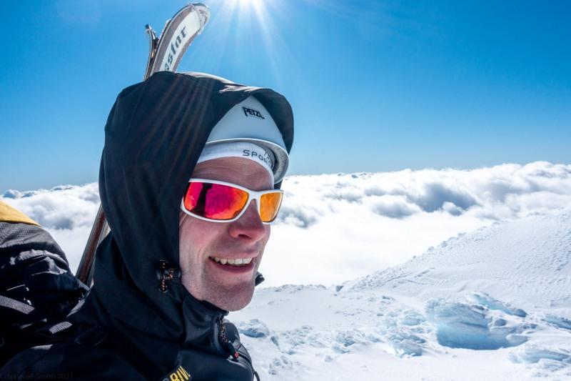 Cris being happy (Tongariro Adventures July 2021)