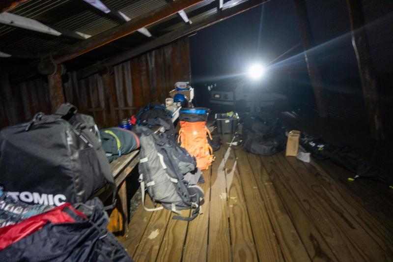 Getting packed (Tongariro Adventures July 2021)