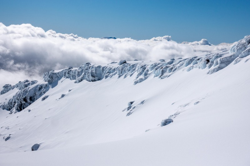 More snow and clouds (Tongariro Adventures July 2021)