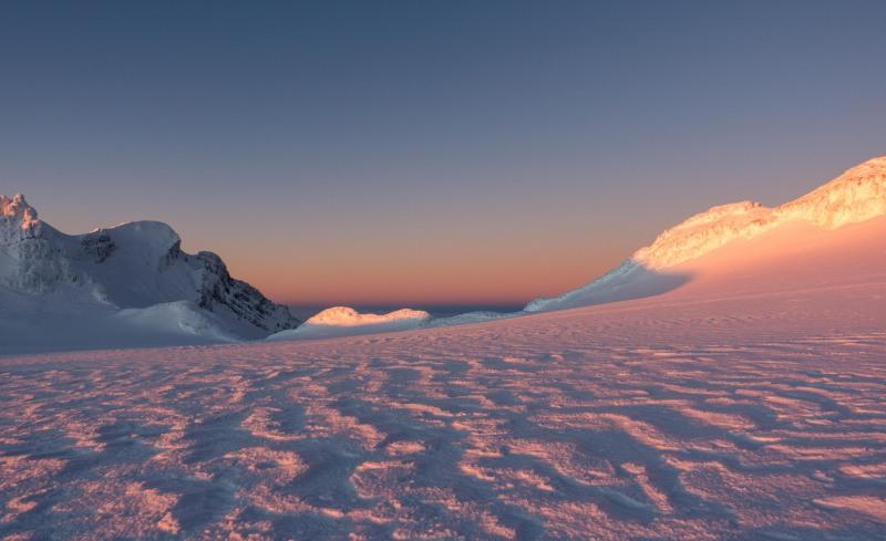 Nice colours at sunset (Tongariro Adventures July 2021)