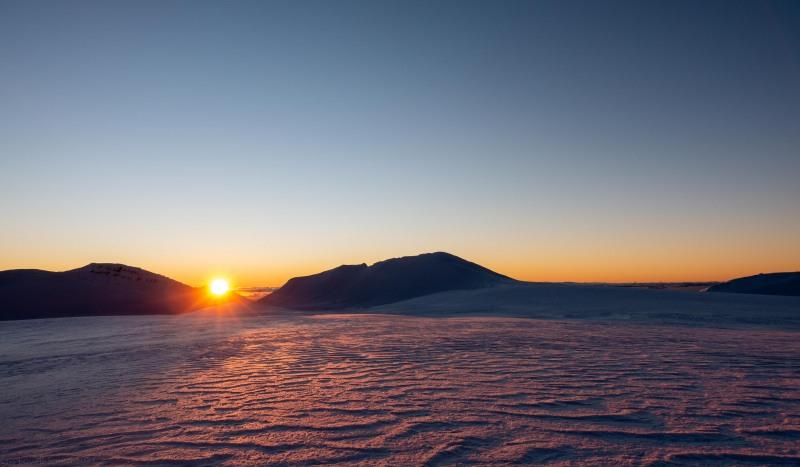 Sunset (Tongariro Adventures July 2021)