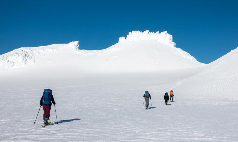 Walking towards Catherdal Rocks (Tongariro Adventures July 2021)