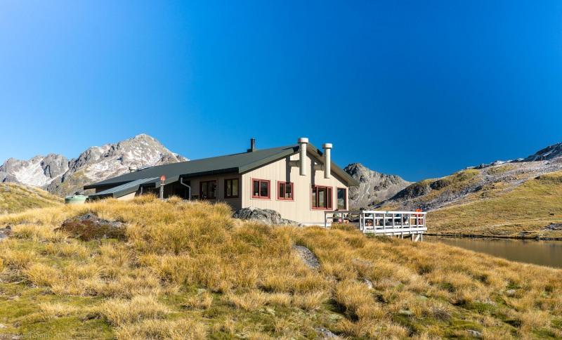 Angelus Hut (Tramping Angelus Hut May 2021)