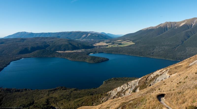 View of Lake Rotoiti (Tramping Angelus Hut May 2021)