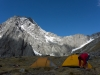Tents infront of Mt Trent 2 (Hopkins Valley Tramp Jan 2015)