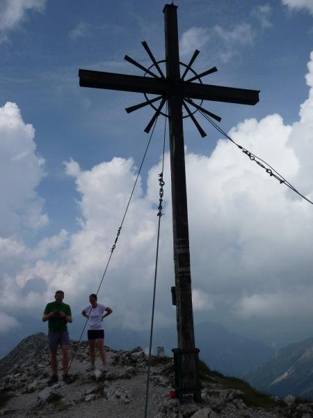 Gipfel (Tramping Schrecksee, Germany)