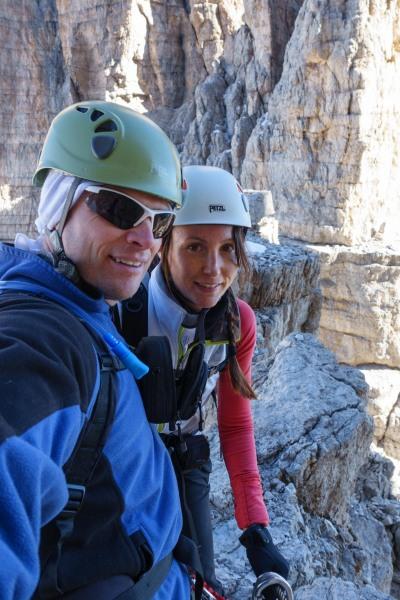 Cris and Leoine (Brenta Dolomites)