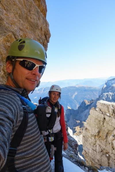 Cris and Leonie (Brenta Dolomites)