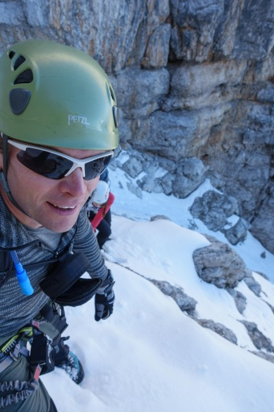 Cris and snow (Brenta Dolomites)