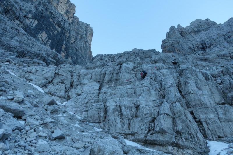 Descending (Brenta Dolomites)