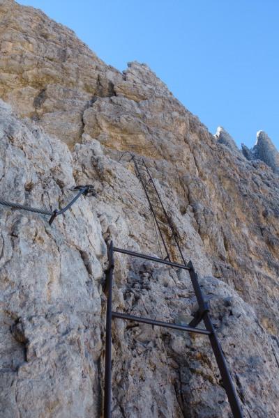 Going up (Brenta Dolomites)