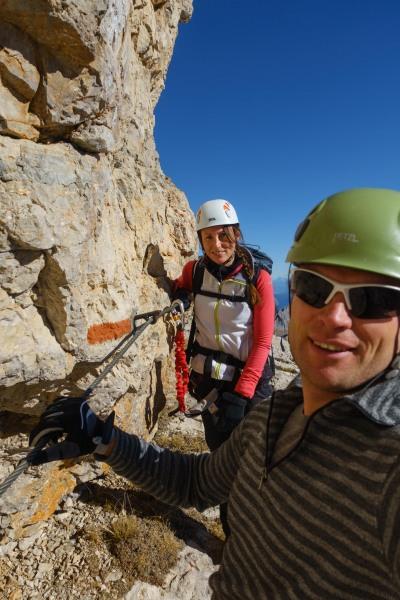Leonie and Cris (Brenta Dolomites)