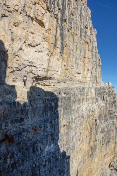 Leonie and drop (Brenta Dolomites)