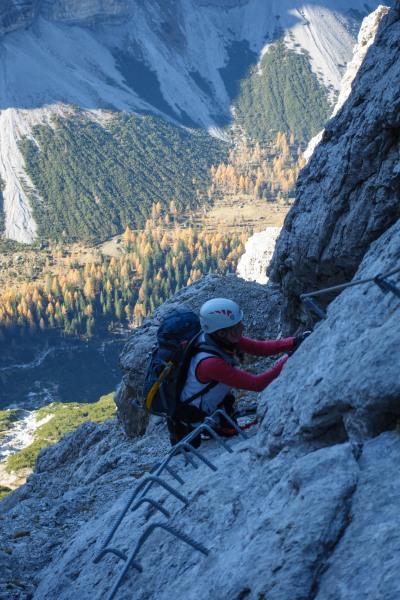 Leonie ascending 2 (Brenta Dolomites 2016)