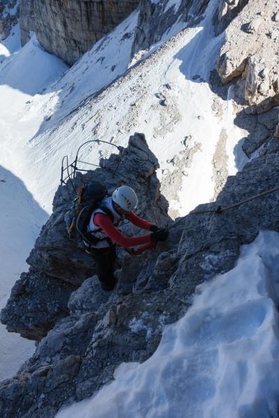 Leonie ascending (Brenta Dolomites)
