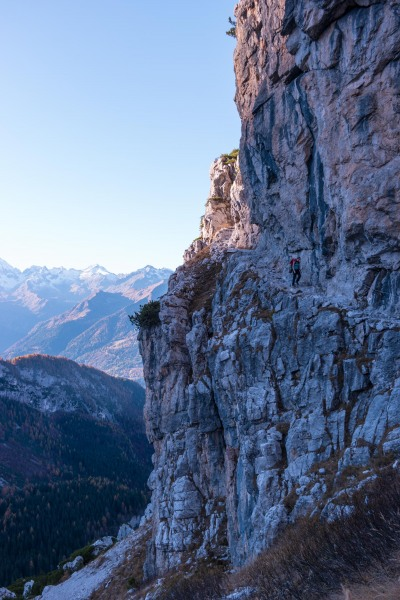 Leonie in the mountains 3 (Brenta Dolomites Oct 2016)