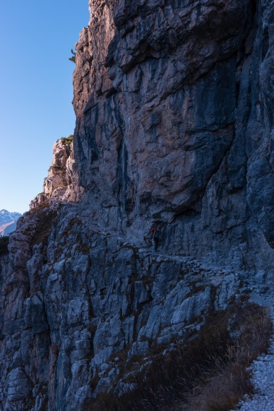 Leonie in the mountains 4 (Brenta Dolomites Oct 2016)